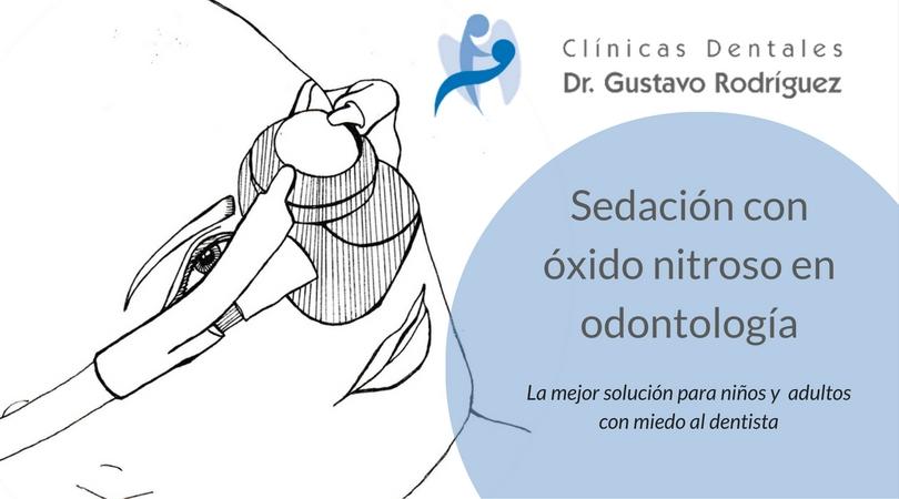 Sedación con óxido nitroso en odontología